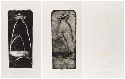 Joseph Beuys, 'Vor der Geburt. Triptychon.', 1951/1975