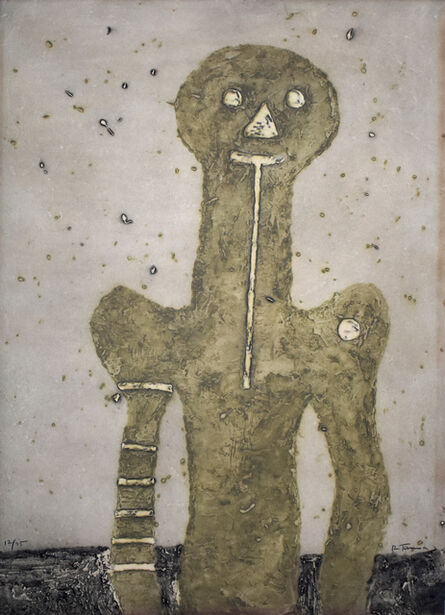 Rufino Tamayo, 'Torso, from: 15 Etchings  Torso: 15 Aguafuertes', 1975