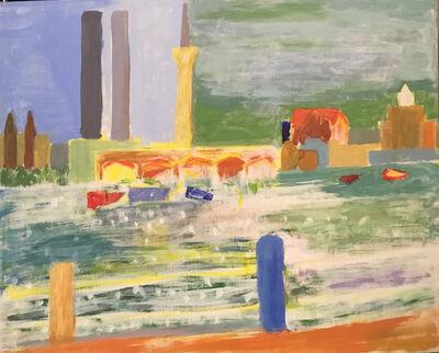 Carolyn Virgil, 'From Hudson River Park', 2021