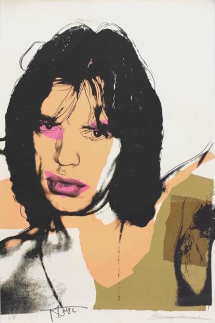 Andy Warhol, 'Mick Jagger (F. & S. II.141)', 1975