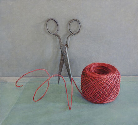 Lucy Mackenzie, 'Scissors and Red String', 2012
