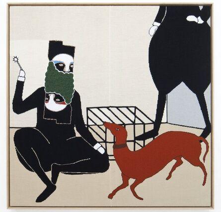Renee So, 'Man and Dog', 2012