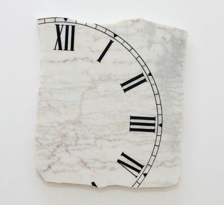 Isaque Pinheiro, 'Untitled, Marble clock', 2010