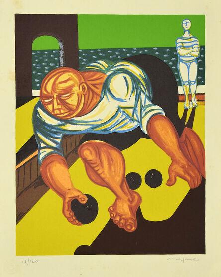 Giuseppe Migneco, 'Bowler ', Late 20th Century