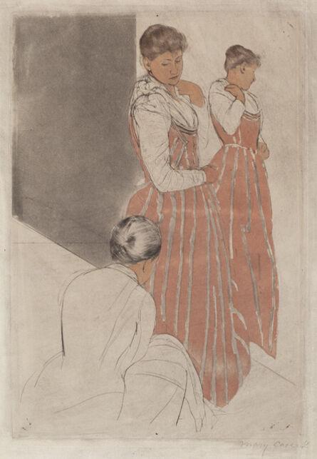 Mary Cassatt, 'The Fitting', 1890/1891