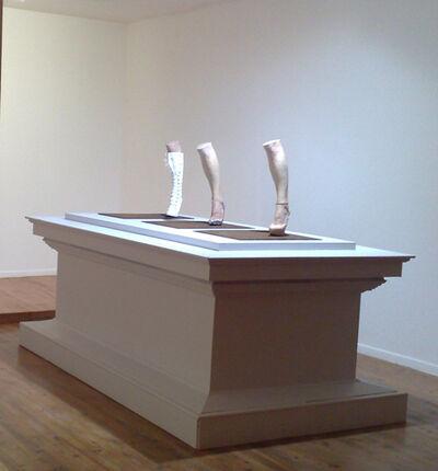 Madeleine Berkhemer, 'Molly's Left Leg', 2009