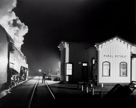 O. Winston Link, 'Birmingham Special at Rural Retreat, Virginia', 1957