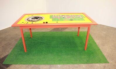 Ipek Duben, 'Roulette Table', 2001