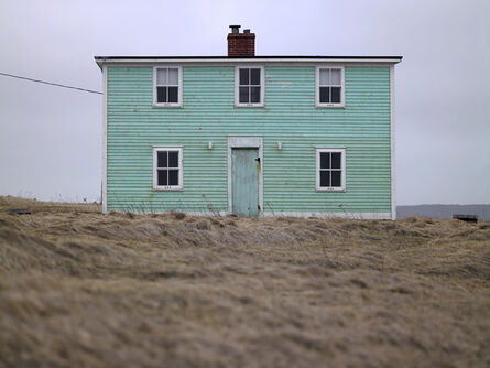 Ned Pratt, 'Turquoise Building, Private Property', 2013