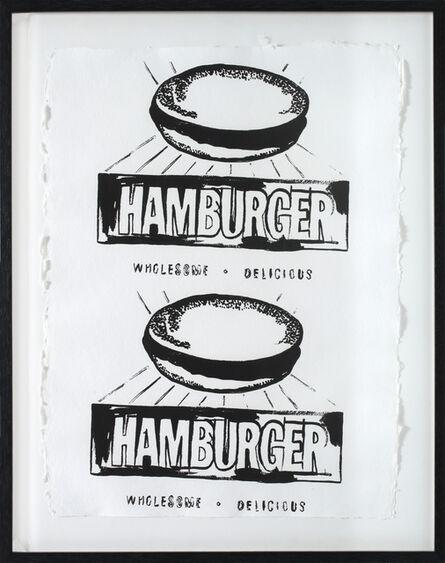 Andy Warhol, 'Hamburger', 1986