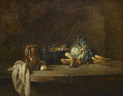 Jean-Siméon Chardin, 'Vegetables for the Soup', ca. 1732