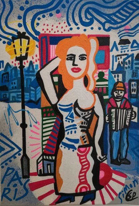 Simon Pradinas, 'Une Chanteuse de Rue', 2016