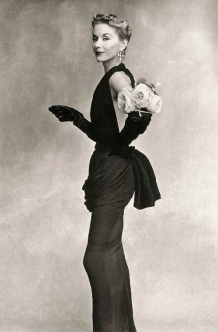 Irving Penn, 'Woman with roses on her arm', 1950/59