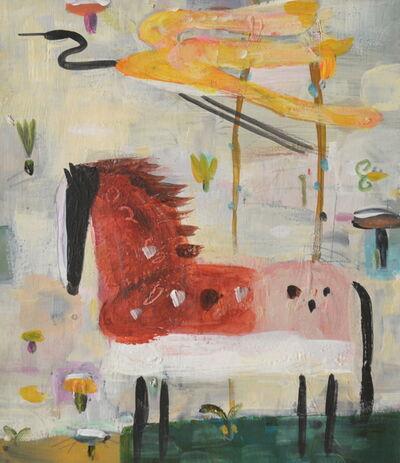 Valentina DuBasky, 'Red Horse and Crane', 2008