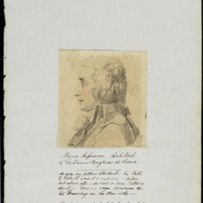 Vincenzo Camuccini, 'Mario Asprucci, architect to the Prince Borghese at Rome', 1840