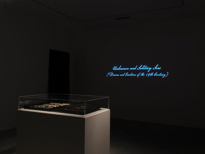 Dario Robleto, 'Unknown and Solitary Seas (Dreams and Emotions of the 19th Century)', 2018