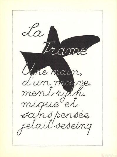 Georges Braque, 'La Liberte des Mers', 1960