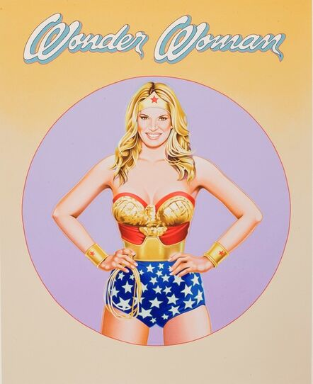 Mel Ramos, 'Wonder Woman', 2010