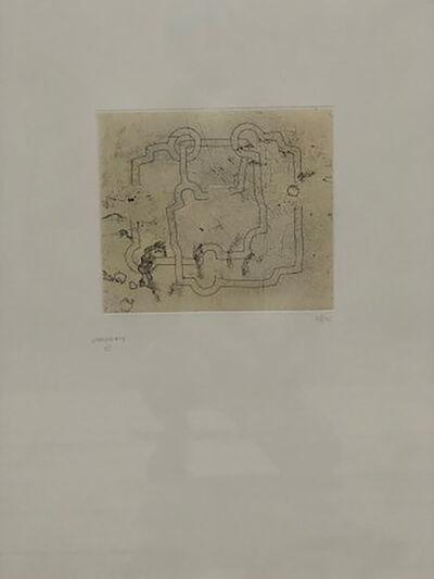 Eduardo Chillida, 'Bidearte I', 1980