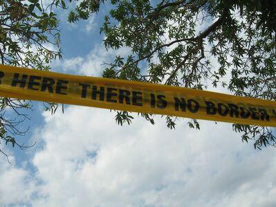 Shilpa Gupta, 'There Is No Border Here', 2005-2006