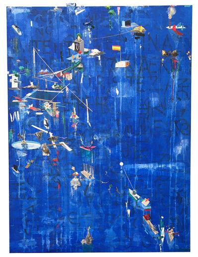 Alfonso Albacete, 'Pintura azul', 2019