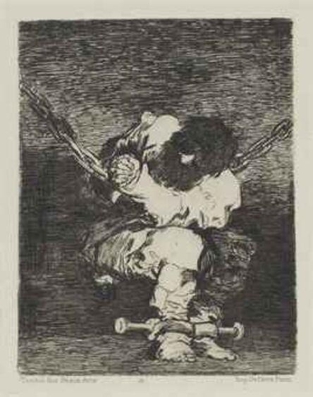 Francisco de Goya, 'Tan bárbara la seguridad como el delito (Little Prisoner)', 1804