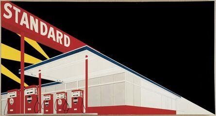 Ed Ruscha, 'Standard Station, Amarillo, Texas', 1963