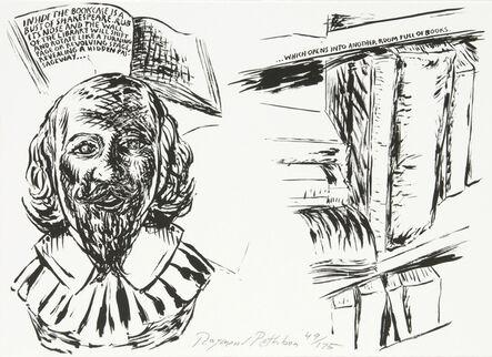 Raymond Pettibon, 'Untitled (Inside the Bookcase)', 2007
