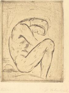 Wilhelm Lehmbruck, 'Büsser', 1912