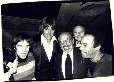 Andy Warhol, 'Andy Warhol Photograph of Rudolf Nureyev, Bruce Jenner, and Ahmet Ertegun, 1979', 1979