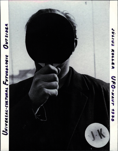 Július Koller, 'Universal-Cultural Futurologic Outsider, UFO-Naut', 1970