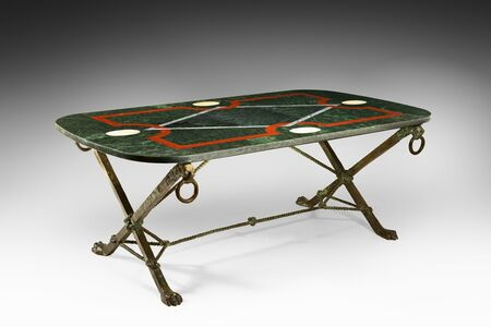 André Arbus, 'Very rare and important table', ca. 1964