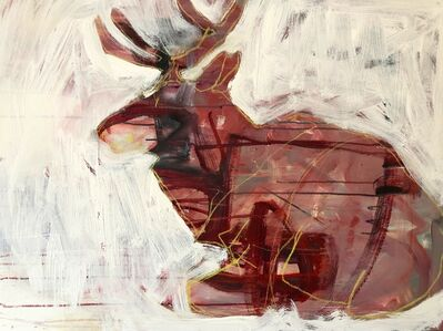 Helen Durant, 'Sitting Elk'