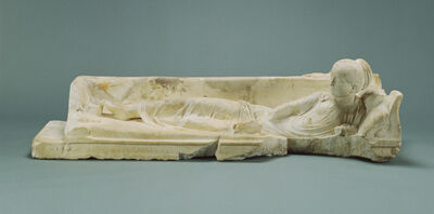 'Kline Monument with a Reclining Girl', 120 -140