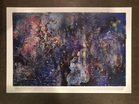 José Parlá, 'Echo Of Impressions Signed Showcard', 2018