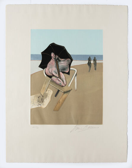 Francis Bacon, 'Triptych 1974-1977 (left hand panel)', 1981