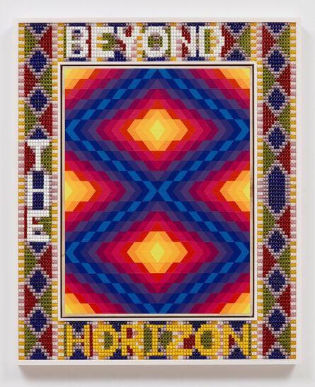 Jeffrey Gibson, 'BEYOND THE HORIZON', 2021