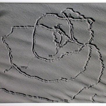 Edward Weston, 'Tracks on Sand, Oceano', 1935
