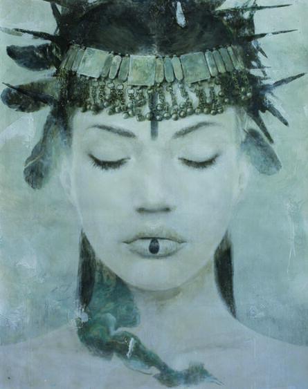 Rómulo Royo, 'Goddesses of Nibiru II', 2014