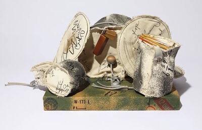 Claes Oldenburg, 'Miniature Soft Drum Set', 1969