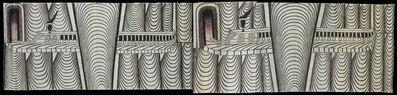 Martín Ramírez, 'Untitled (Trains and Tunnels) A, B', 1960