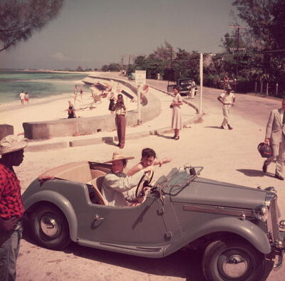 Slim Aarons, 'Katharine Hepburn, Montego Bay, Jamaica', 1957