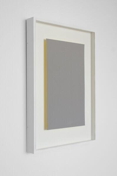 Susan York, 'Achromatopsia 1 (yellow)', 2015