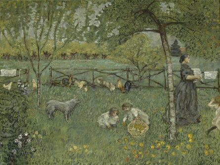 Pierre Bonnard, 'Le grand jardin (The Large Garden)', 1895