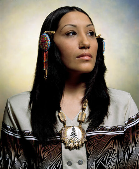 Andres Serrano, 'Jill Hardy, Powhatan Renape Nation (America)', 2002