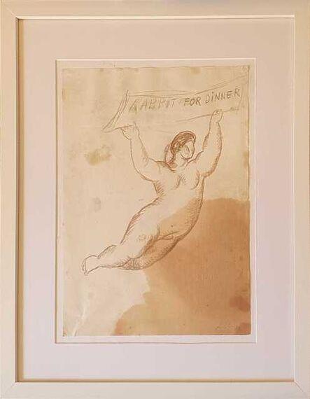 Sandro Chia, 'Rabbit for dinner', 1982