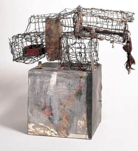 Robert Rauschenberg, 'Three Traps for Medea', 1959