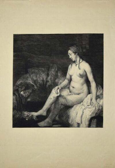 Leopold Flameng, 'Le Lavement des Pieds', 1880s