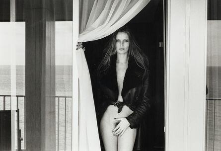 Helmut Newton, 'Portrait of Veruschka on the Terrace of the Presidential Suite, Hotel Meridien, Nice, 1975', 1976