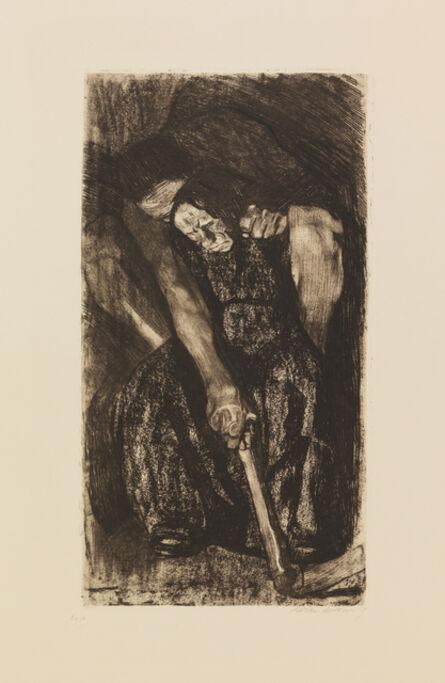 Käthe Kollwitz, 'INSPIRATION', 1904/5